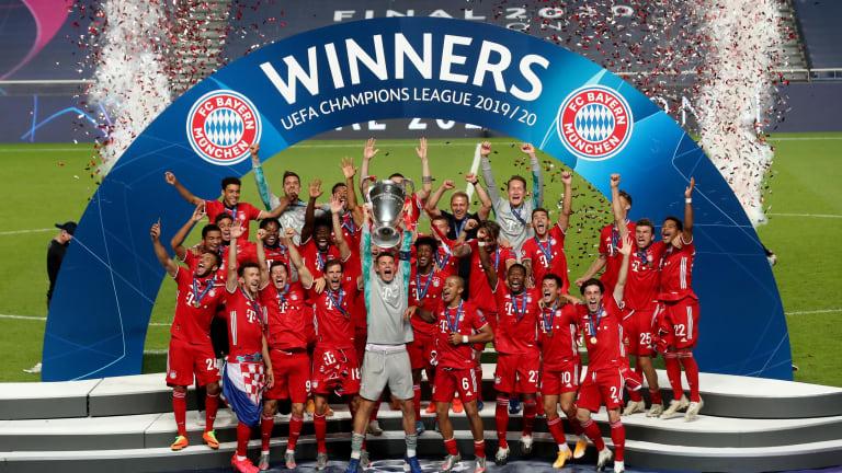 Bayern Munich wins Champions League 2019/2020