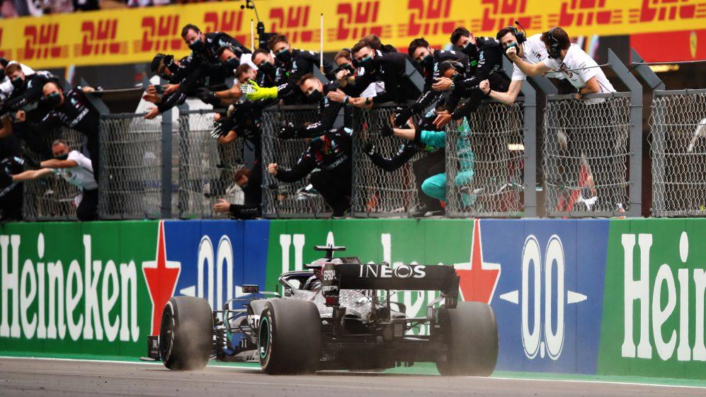 Hamilton takes record-breaking 92nd win in Portuguese GP