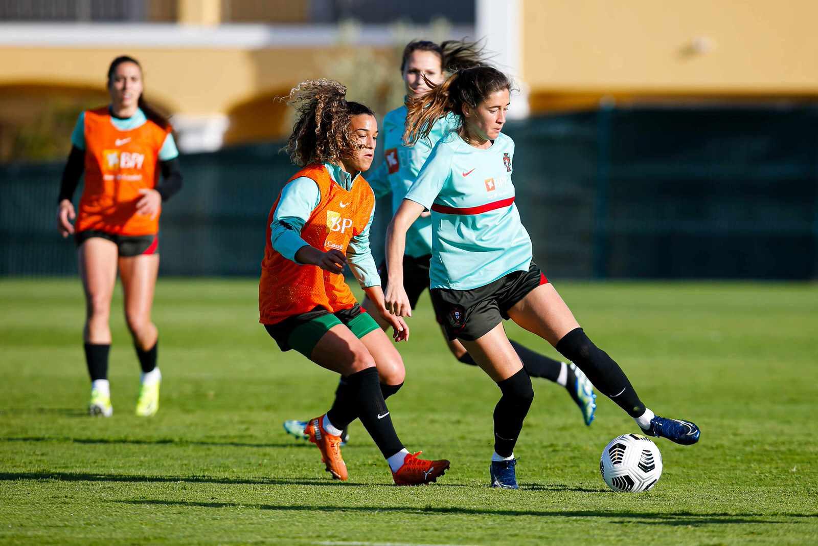 Portuguese women's football team has begun training in Lagos