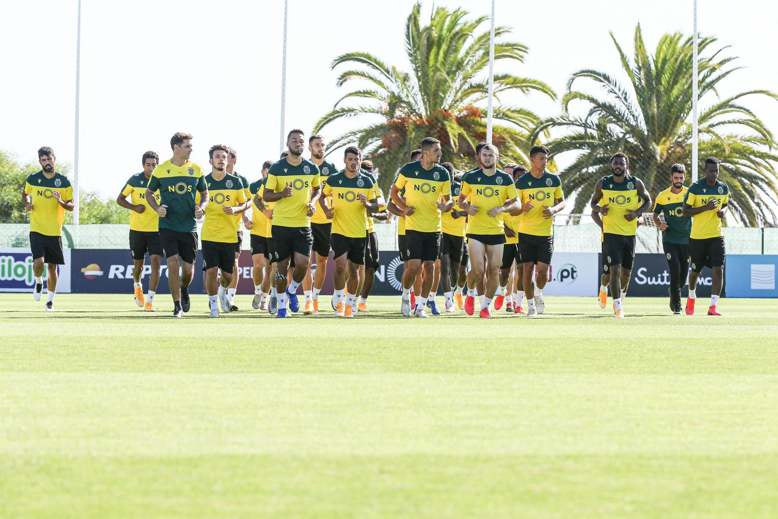 Sporting CP head to the Algarve