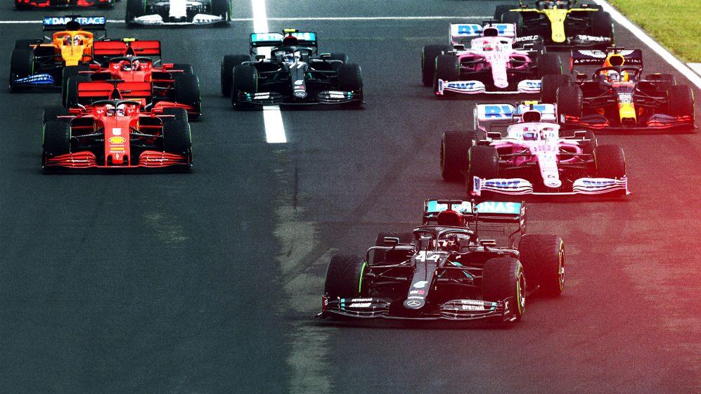 Portuguese GP starts now